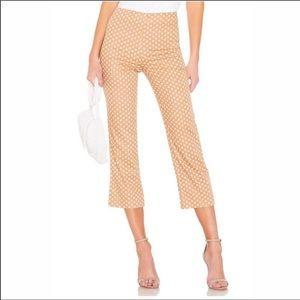 LPA Revolve NWT Cropped Polka-Dot Pants~Size XL